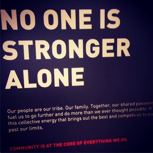 No One is Stronger Alone