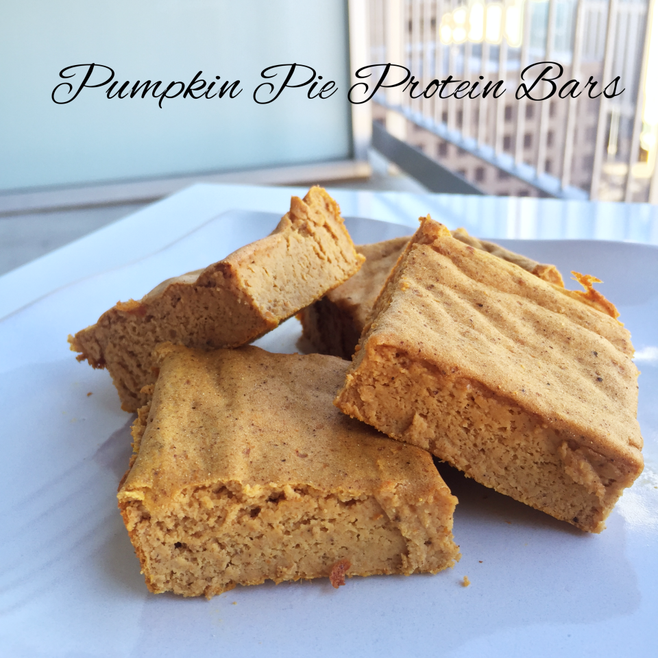 Pumpkin Pie Protein Bars 4